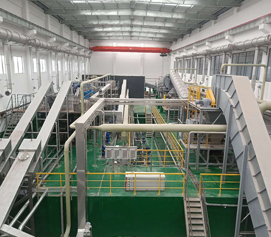 15 tph sorting system in China (sorting + WTE + biogas)